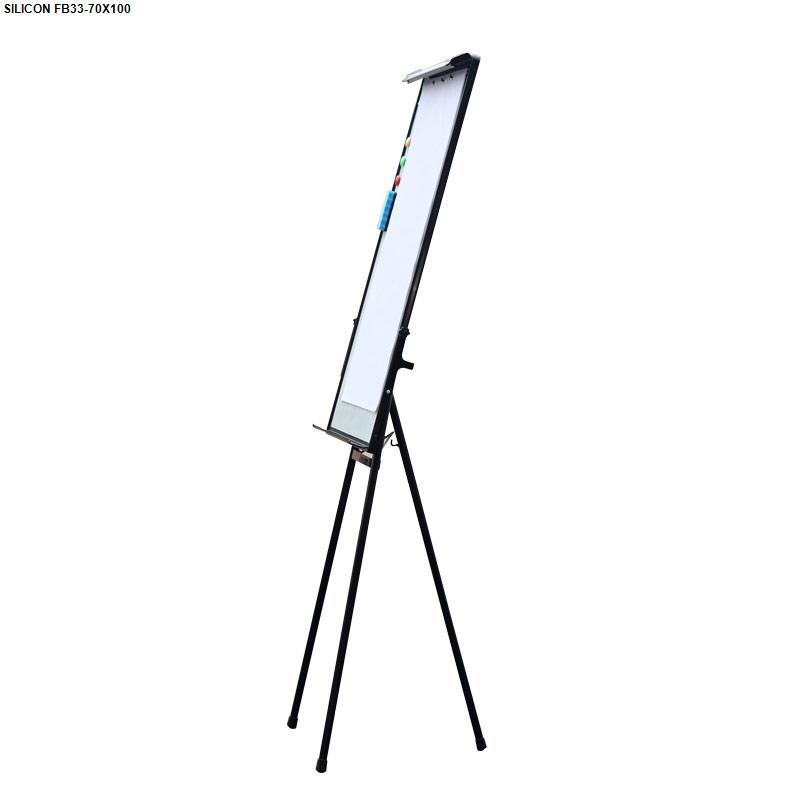 Bảng Flipchart Silicon 3 chân FB33(70x100)