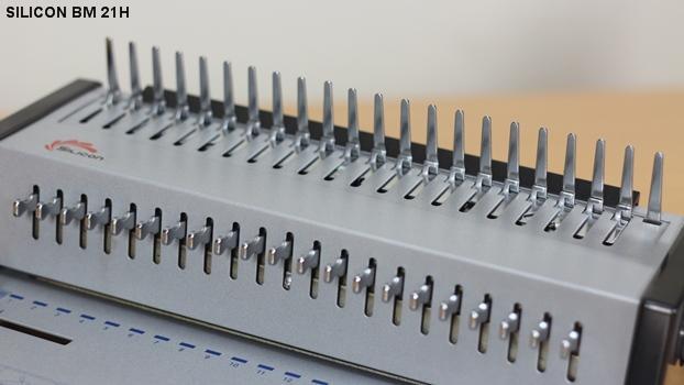 Máy đóng sách Silicon BM 21H