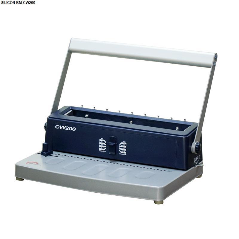 Máy đóng sách Silicon BM-CW200