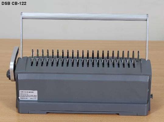 Máy đóng sách gáy xoắn nhựa DSB CB-122