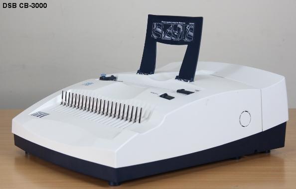 Máy đóng sách gáy xoắn nhựa DSB CB-3000