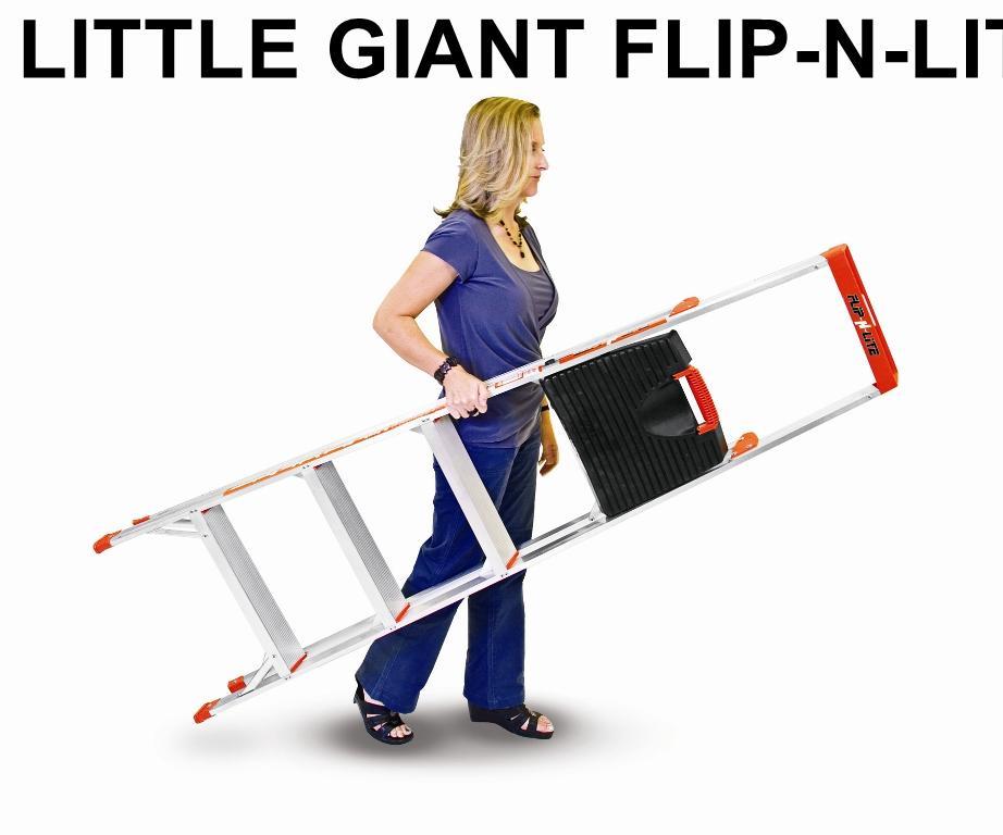 Thang gia đình Little Giant Flip-N-Lite 6