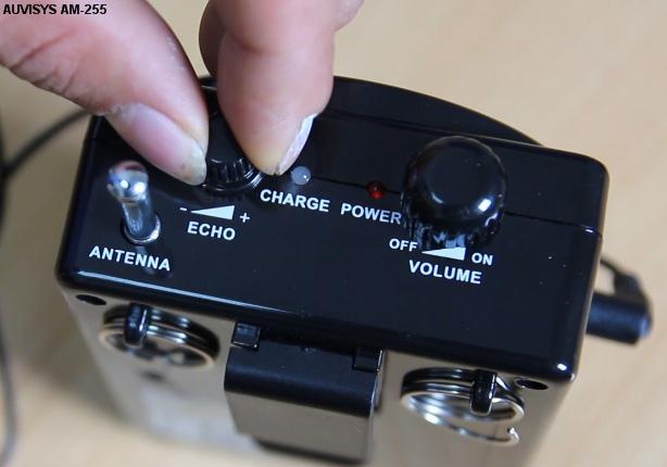 Thiết bị âm thanh trợ giảng AUVISYS AM-255 (Thay thế model AM-253)