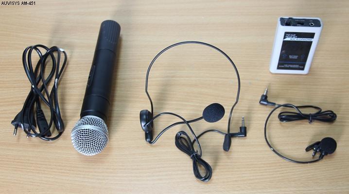 Thiết bị âm thanh trợ giảng cao cấp Auvisys USA AM-451