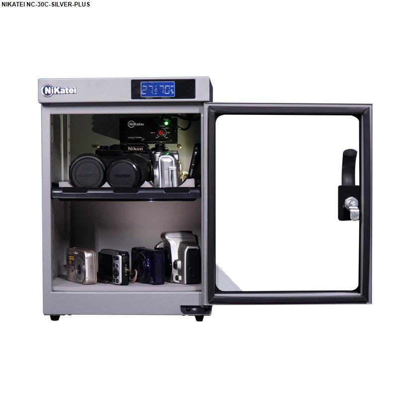 Tủ chống ẩm cao cấp Nikatei NC-30C Silver Plus ( 30 lít )