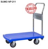 Xe đẩy hàng sàn nhựa SUMO Nhật Bản NP-211