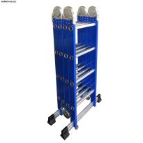 Thang nhôm gấp đa năng 4 đoạn Advindeq ADM104 blue