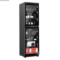 Tủ chống ẩm cao cấp Nikatei NC-180S viền nhôm mạ bạc ( 180 lít )