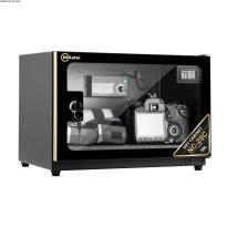 Tủ chống ẩm cao cấp Nikatei NC-20C viền nhôm mạ vàng