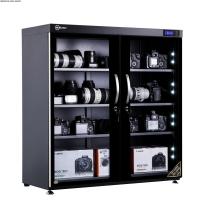 Tủ chống ẩm cao cấp Nikatei NC-250S viền nhôm mạ bạc