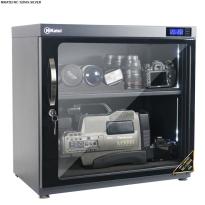 Tủ chống ẩm chuyên dụng Nikatei NC-120HS viền nhôm mạ bạc (120 lít)