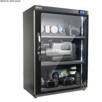 Tủ chống ẩm chuyên dụng Nikatei NC-180HS viền nhôm mạ bạc (180 lít)
